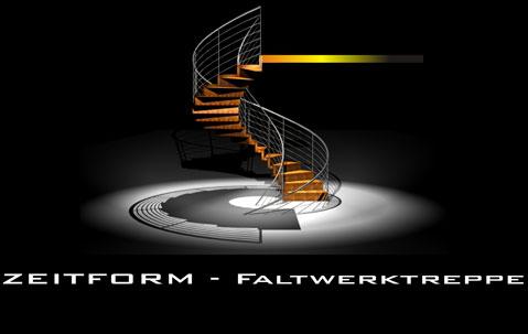 Die ZEITFORM - Faltwerktreppe ist die einzige Faltwerktreppe aus Holz, die ohne stützende Wand auskommt. Außer An- und Austritt benötigt sie einseitig nur 3 Befestigungen, um die hohen Kriterien einer bauaufsichtlichen Zulassung (ETA) zu erfüllen. Dadurch ist die ZEITFORM - Faltwerktreppe nahezu selbsttragend.